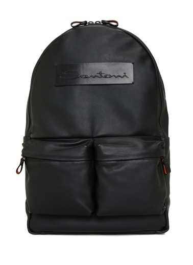 Santoni Laptop /Evrak Çantası Siyah